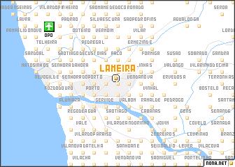 map of Lameira