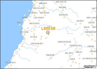 map of Lamesa