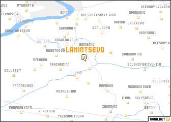 map of Lamintsëvo