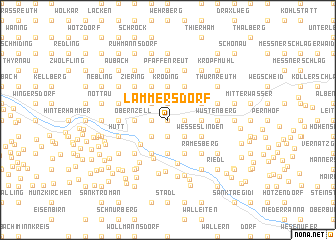 map of Lämmersdorf