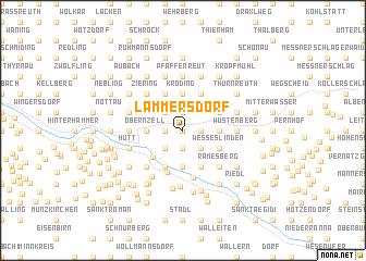 map of Lämmersdorf