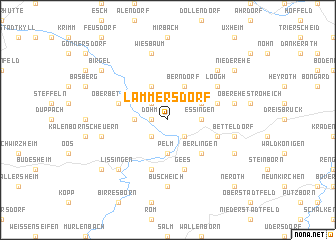map of Lammersdorf