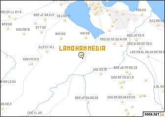 La Mohammedia Tunisia map nonanet
