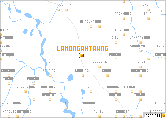 map of Lamongahtawng