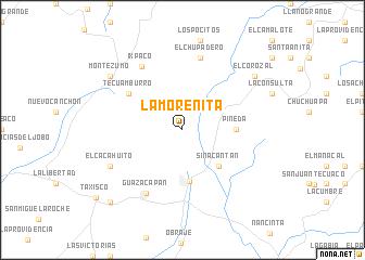 map of La Morenita