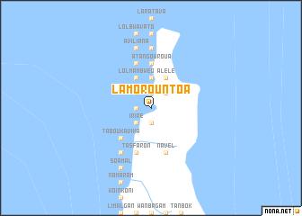 map of Lamorountoa