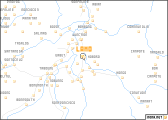 map of Lamo