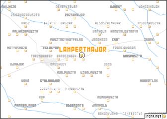map of Lampertmajor