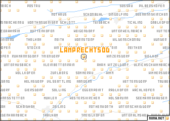 map of Lamprechtsöd