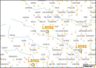 map of Lanag