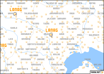 map of Lanag