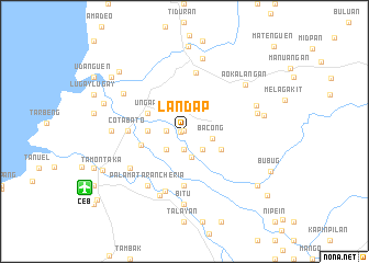 map of Landap