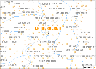 map of Landbrücken