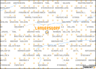 map of Landersdorf