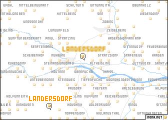 map of Landersdorf