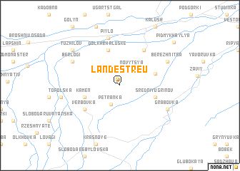 map of Landestreu