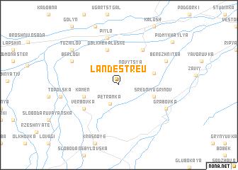 map of Landestreu