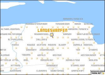 map of Landeswarfen