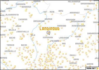 map of Landi Roud