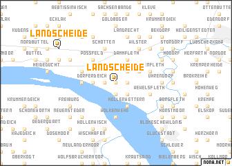 map of Landscheide