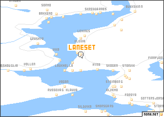 map of Laneset