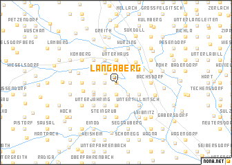 map of Langaberg