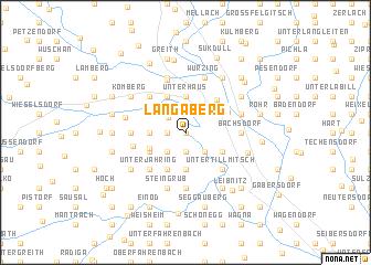 map of Langaberg