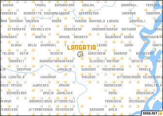 map of Lāngātia