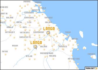 map of Langa