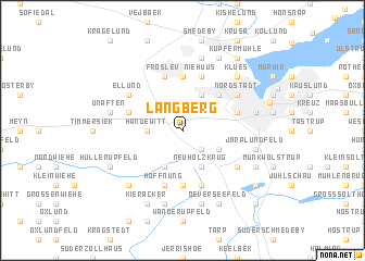 map of Langberg