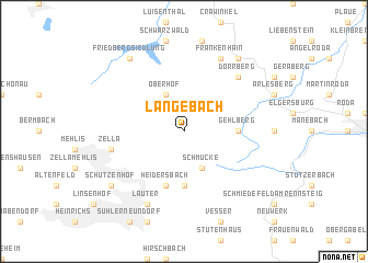 map of Langebach