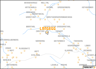 map of Langegg