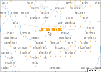 map of Langenberg