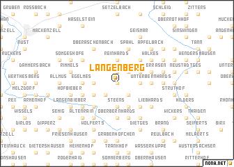 map of Langenberg