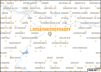map of Langenhennersdorf