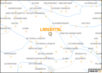 map of Langental