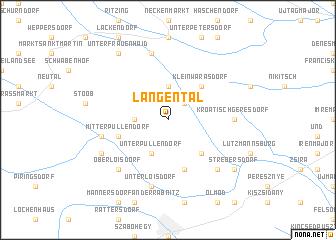 map of Langental
