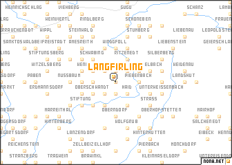 map of Langfirling