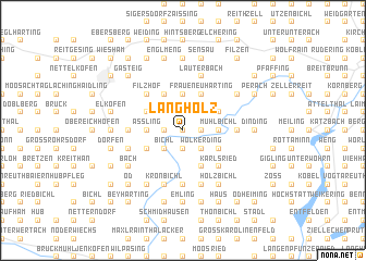 map of Längholz