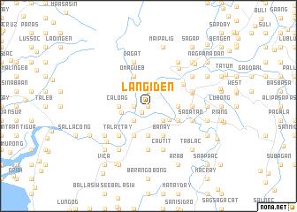 map of Langiden
