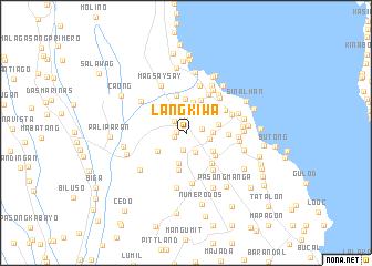 map of Langkiwa