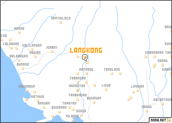 map of Lang Kong