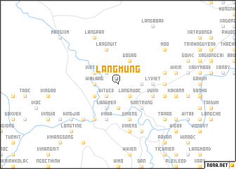 map of Làng Mung
