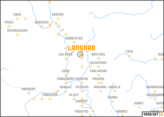 map of Langnao