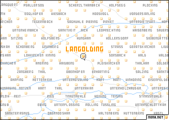 map of Langolding