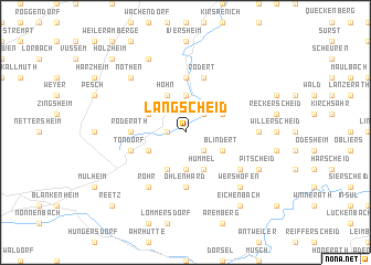 map of Langscheid