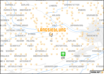 map of Langsiedlung