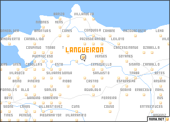 map of Langueirón