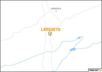 map of Langueyú