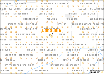 map of Langwaid